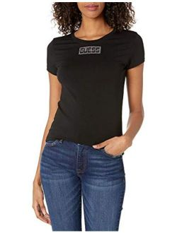 Women's Short Sleeve Crystals Logo Tee