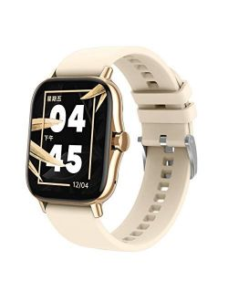 ATGTGA Smart Watch for Android/iOS Phone(Receive/Make Calls,1.63Inch,Bluetooth) 10+Sports Mode,Fitness Tracker with ,Stress Monitor,Cardio Watch for Women Men