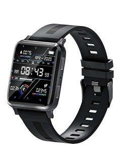 suinsist Smart Watch with Call, Fitness Tracker with Sleep Monitor, Activity Tracker with 1.54 Inch Touch HD Screen, IP67 Waterproof Pedometer Smartwatch with Step Monito
