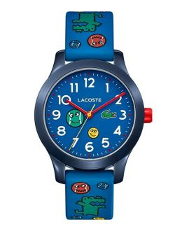 12.12 Kid's Blue Silicone Strap Analog Watch 32mm