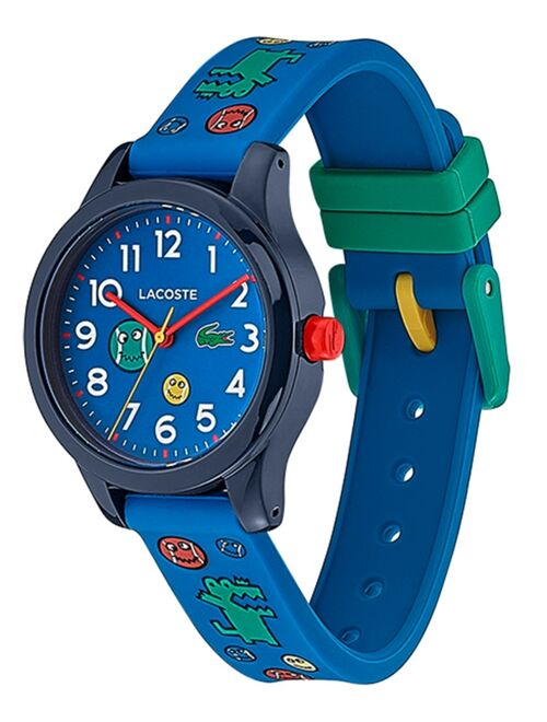 Lacoste 12.12 Kid's Blue Silicone Strap Analog Watch 32mm