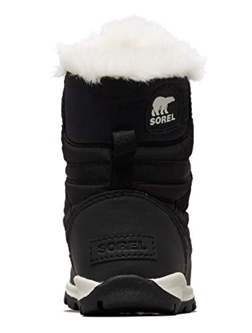 SOREL - Youth Whitney Short Lace Waterproof Snow Boots for Winter with Faux Fur Cuff