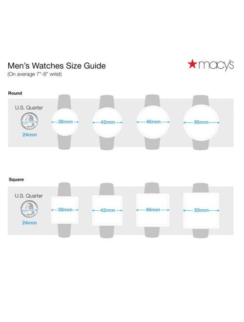 Lacoste Men's Cap Marino White Silicone Strap Analog Watch 44mm