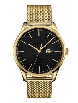 Men's Vienna Gold Plated Bracelet Watch 42mm