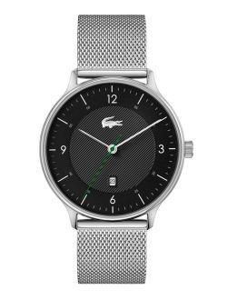 Men's Club Stainless Steel Mesh Bracelet Watch 42mm