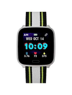 Ect By Timex Kids Active 37mm Smartwatch With Heart Rate, Notifications And Activity Tracking