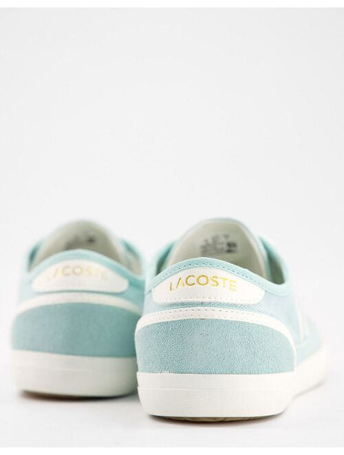Lacoste sideline sneakers in green