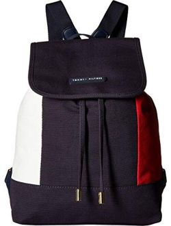 Th Flag Flap Backpack, Tommy Navy