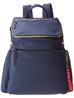Annada Backpack, Navy Tonal