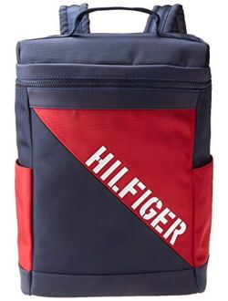 Dalton Backpack, Navy/red/white