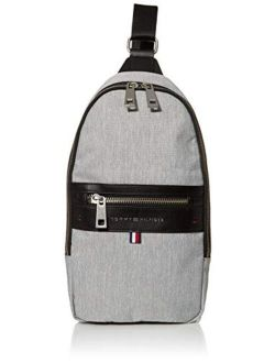 Women's Men's Leo Sling Backpack, Grey, Os