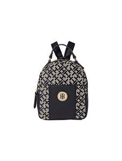 Roxy Ii-mini Backpack-geometric Jacquard Tan/dark Chocolate/chocolate One Size