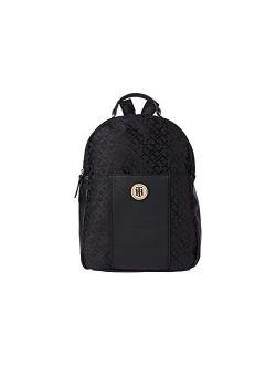 Roxy Ii-backpack-geometric Jacquard Black Tonal One Size
