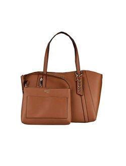 Naya Pochette Shoulder Bag Women's 33cm Brown