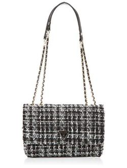Women's Cessily Convertible Crossbody Flap Cross Body Bag - Black Multi