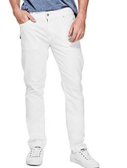 Men's Mid Rise Slim Fit Tapered Leg Jean