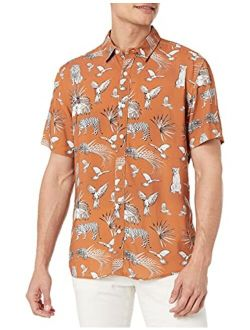 Men's Short Sleeve Eco Animal Kingdom Shirt