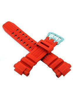 #10370830 Genuine Factory Replacement Band For G Shock Watch Model Gw3000m-4av (orange)