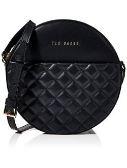 Quilted Circle Crossbody Bag