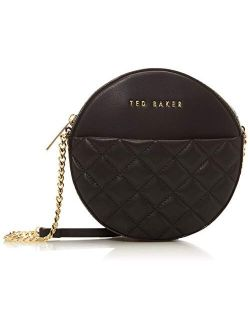 Small Quilted Circle Crossbody Bag