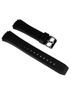 10357533 Genuine Factory Replacement Resin Watch Band Fits Ef-552-1av Ef-552pb-1a2v Ef-552pb-1a4v