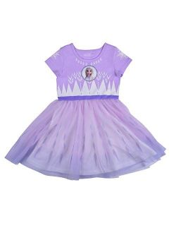 Frozen Ii Elsa Dress For Girls