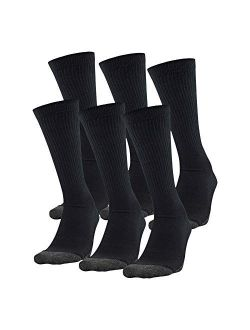 Adult Performance Tech Crew Socks (3 And 6 Pack)