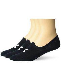 Adult Essential Ultra Low Tab Socks, 3-pairs