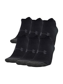 Youth Performance Tech No Show Socks, 6-pairs