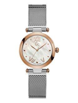 Women's Swiss Stainless Steel Mesh Bracelet Watch 32mm