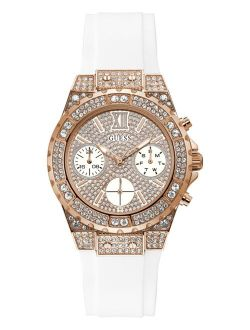 Women's White Silicone Bracelet Watch 39mm