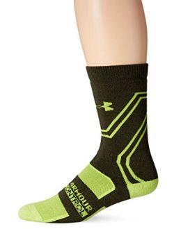 Men's Scent Control Cushion Crew Socks