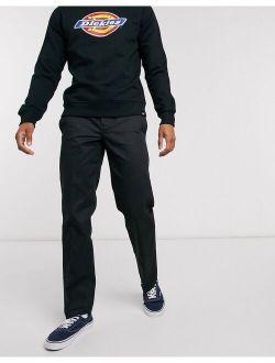 873 Slim Straight Work Pant In Black