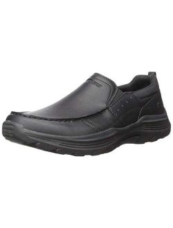 Men's Expended-seveno Leather Slip On Moccasin