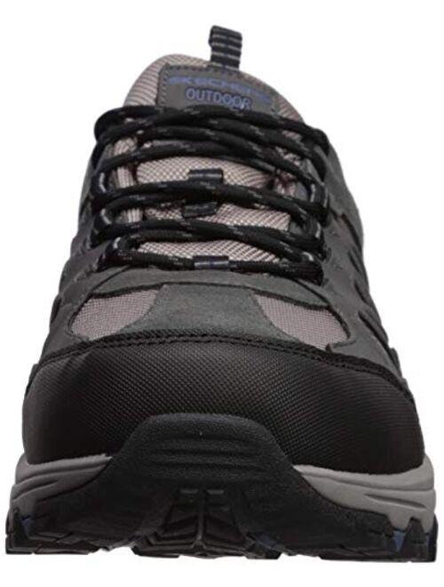 Skechers Men's Outline-SOLEGO Trail Oxford Hiking Shoe