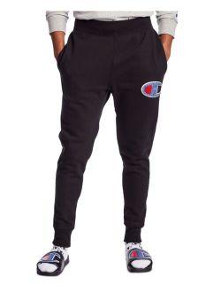 Men's Loose-Fit Chenille Logo Appliqué Jogger Pants
