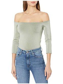 Women's 3/4 Sleeve Off The Shoulder Dita Top