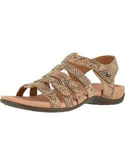 Women's Rest Harissa Backstrap Fisherman Walking Sandals - Adjustable Gladiator Sandal With Concealed Orthotic Arch Support