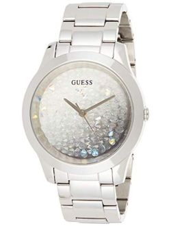 Women's Analog Watch With Stainless Steel Strap, Silver, 20 (model: Gw0020l1)