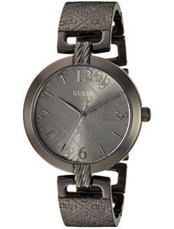 Women's Analog Watch With Stainless Steel Strap, Silver, 16 (model: U1295l1)