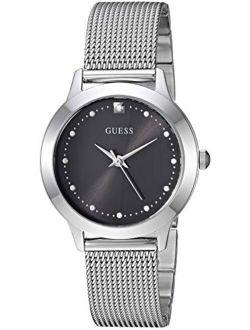 Women's Quartz Stainless-steel Strap, Silver, Casual Watch (model: U1197l1)
