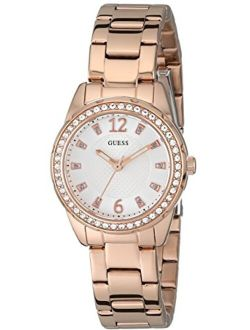 Women's Petite Rose Gold-tone Bracelet Watch