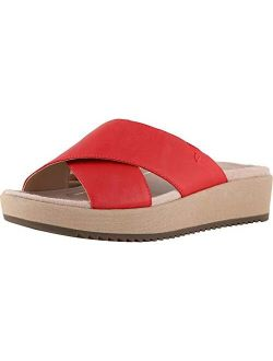Women's Tropic Hayden Platform Sandal - Ladies Slide With Concealed Orthotic Arch Support