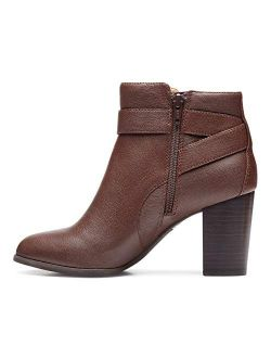 Women's Perk Alison Ankle Boots- Ladies Booties With Concealed Orthotic Arch Support