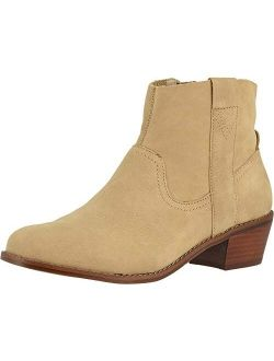 Women's Joy Roselyn Ankle Booties - Ladies Comfortable Western Walking Boots With Concealed Orthotic Arch Support