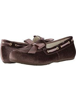 Women's Haven Alice Holiday Slipper - Ladies Moccasin Concealed Orthotic Arch Support