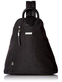 Metro Backpack With Rfid Wristlet, Black