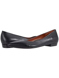 Women's Quartz Lena Pointed Ballet Flat - Ladies Dress Flats That Include Three-zone Comfort With Orthotic Insole Arch Support