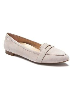 Women's Gem Savannah Pointed Ballet Flats - Ladies Dress Loafers That Includes Three-zone Comfort With Ultimate Arch Support
