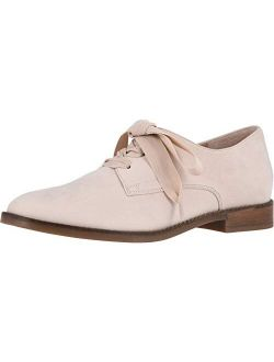 Women's Wise Evelyn Lace-up Shoes - Ladies Derby Flats With Concealed Orthotic Arch Support